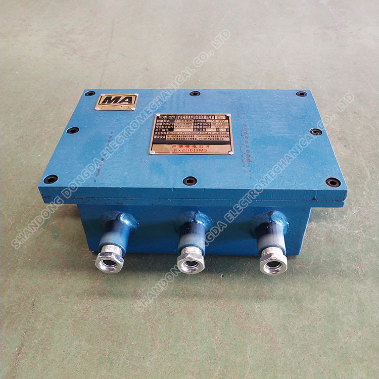 Kdw127/12 mine flame-proof and intrinsically safe DC stabilized voltage supply