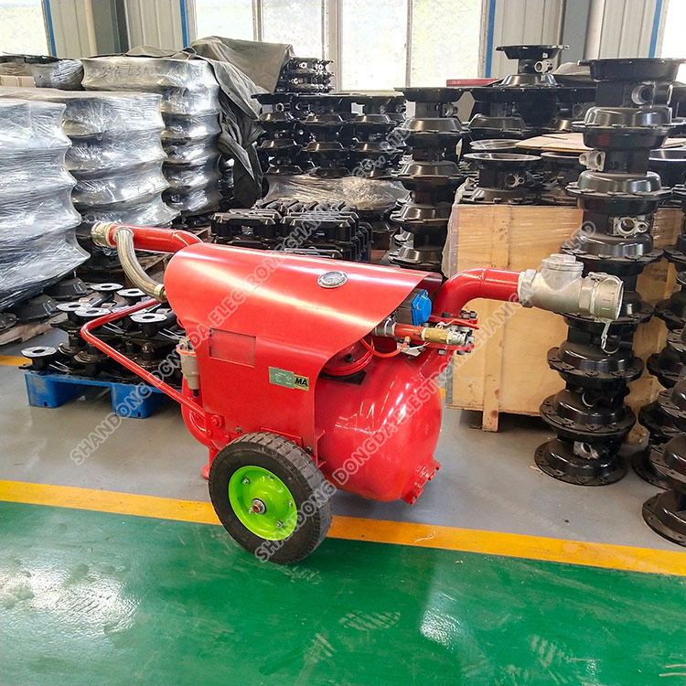 QYF series pneumatic desilting and sewage pump for mine