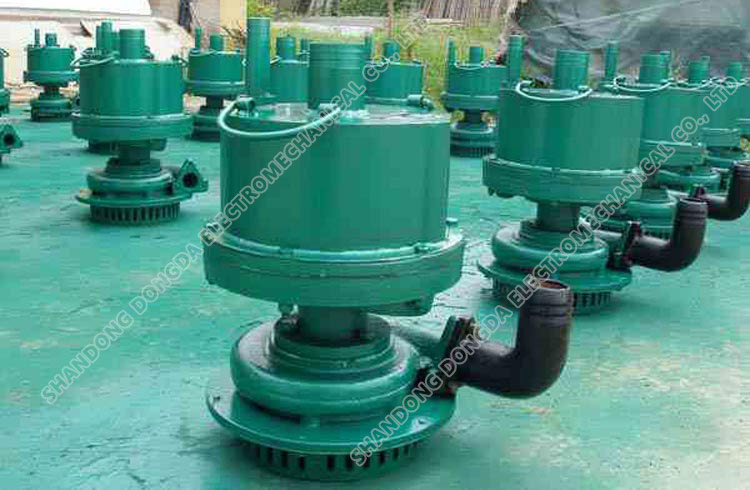 FQW20-40/W mine pneumatic submersible pump